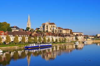 Auxerre Abtei Saint-Germain - Auxerre Abbey of Saint-Germain d'Auxerre