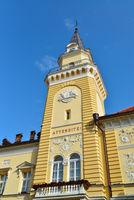 Kikinda city hall tower