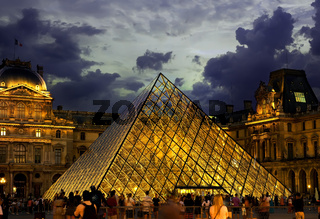 Pyramid of Louvre