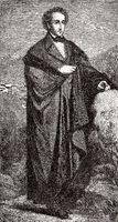 Jakob Ludwig Felix Mendelssohn Bartholdy, 1809 - 1847, a German composer, pianist and organist of the Romantic,