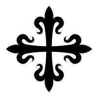 Croix fleurdelisée
