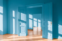 real estate interior empty apartment, new flat
