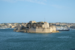 Fort St. Angelo over the Harbor