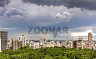 Sao Paulo buildings and skyline