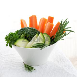 Gemuese und Kraeuter / vegetable and herbs