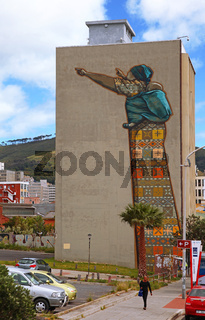 Unterwegs in der Innenstadt in Kapstadt, on tour at the city of Cape Town, South Africa