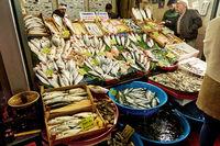 fish market in Istanbul Turkey