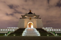 Chiang Kai-Shek Memorial Hall by night