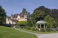 Kreuzlingen, Seepark mit Schloss Seeburg