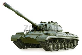 Soviet heavy tank T-10M, manufactured in 1966