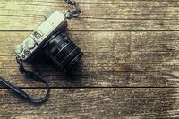 Vintage retro camera.