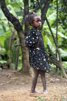 Mädchen aus der ethnischen Gruppe der Betsimisaraka, Ambavaniasy, Madagaskar