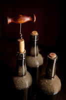 Still-life with vintage wine