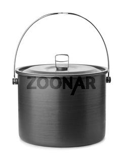 Camping cooking pot