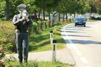 Gendarm bei der Arbeit