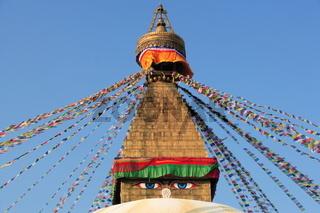 Top of buddhistic stupa