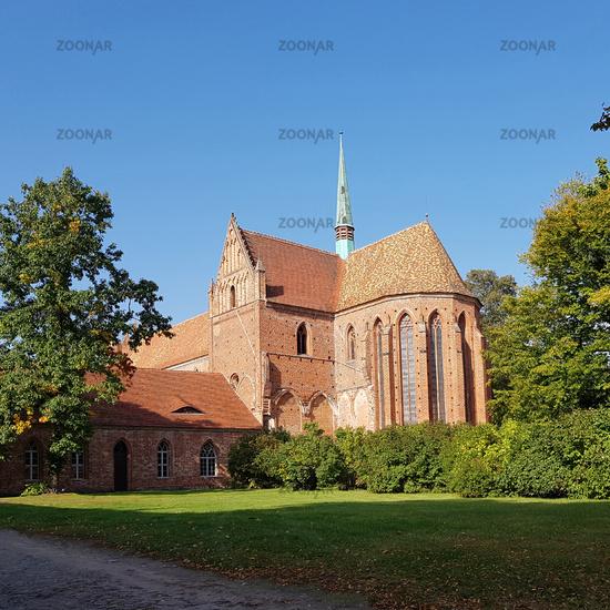 Chor und Dachreiter von Kloster Chorin