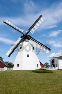 Windmühle bei Aarsdale, Bornholm, Dänemark