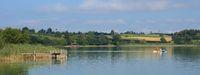 Summer vacation at lake Pfaffikon, Zurich Canton.