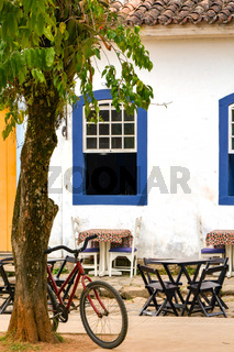 Bicycle in Paraty