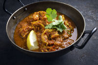 King Prawn Curry in Bowl