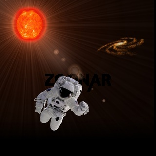 Astronaut Sun