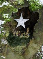 Weihnachtskrippe; Christmas Church Germany,