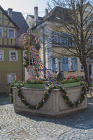 Osterbrunnen in Langenburg an der Jagst