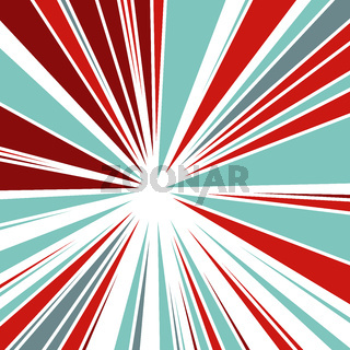 Abstract Background of Star Burst