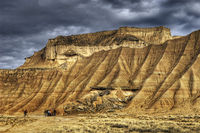 Bardenas Reales, General landscape
