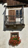 Bauernhaus in Corvara; Dolomiten; Suedtirol;