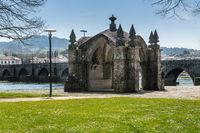 Guardian Angel Chapel in Ponte de Lima