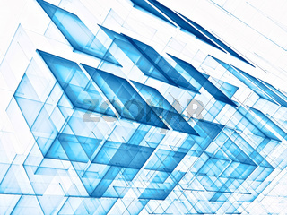 Cubes background - abstract digitally generated image