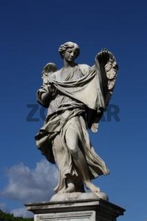 Rom, Engelsbrücke, Engel mit dem Schweißtuch