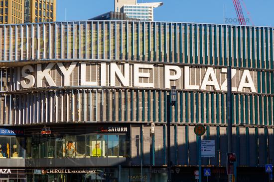 Frankfurt am Main, Skyline Plaza.