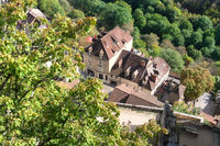 Village Rocamadour in France