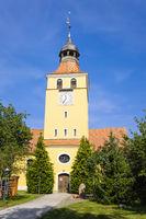 Kirche in Grünefeld, Gemeinde Schönwalde-Glien, Brandenburg, Deutschland