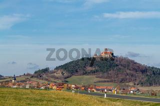 Blick auf die Wachsenburg in Thüringen