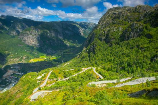 Famous dangerous road