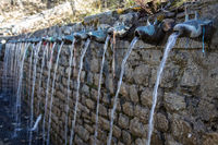 Wall Fountain at Muktinath Temple