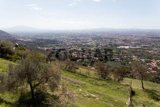 Viiew of Caserta Vecchia