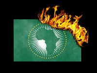 Flag burning - African Union