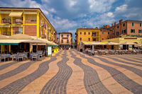 Town of Lazise streetscape view