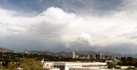 Long Panoramic Salt Lake City Utah Downtown City Center State Capital