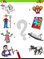 match people characters and objects game