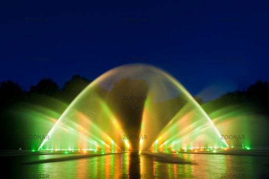 Foto Wasserlichtkonzert Im Planten Un Blomen Hamburg Bild 859447