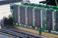 Makro, RAM Arbeitsspeicher in einem Personal Computer, PC |Macro, RAM memory in a personal computer, PC