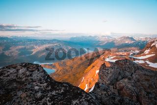 Midnight sun in Narvik
