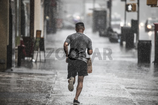 New York Monsoon Summer Rain