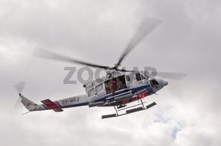 Färöer-Inseln, Landeübung mit dem Hubschrauber